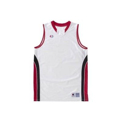 チャンピオン(Champion) ジュニア バスケット ゲームシャツ ホワイトR CBYR2033 WR 150