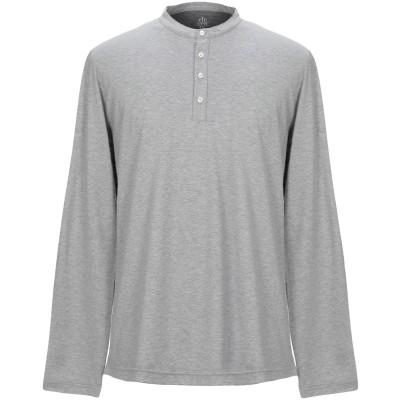 イレブンティ ELEVENTY T シャツ ライトグレー XL コットン 100% T シャツ