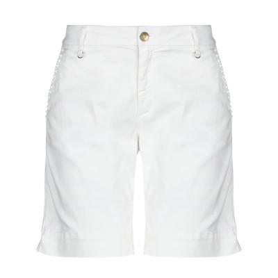 メイソンズ MASON'S バミューダパンツ ホワイト 38 コットン 98% / ポリウレタン 2% バミューダパンツ