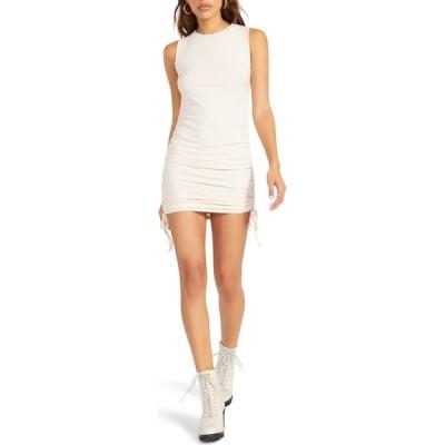 スティーブ マデン BB DAKOTA BY STEVE MADDEN レディース ボディコンドレス ノースリーブ ワンピース・ドレス BB Dakota Sleeveless Body-Con Dress Beige
