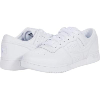 フィラ Fila メンズ スニーカー シューズ・靴 Original Fitness White/White/White