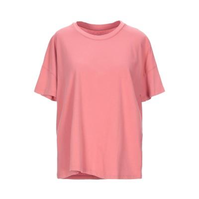 マジェスティック MAJESTIC FILATURES T シャツ パステルピンク 1 コットン 100% T シャツ