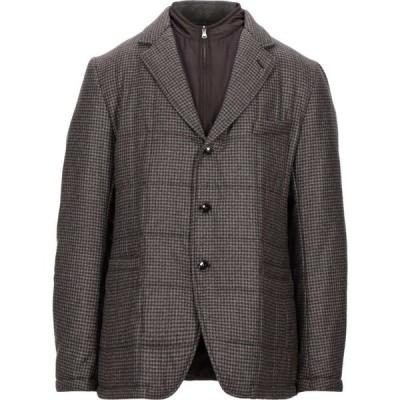 トンボリーニ TOMBOLINI メンズ ジャケット アウター jacket Dark brown