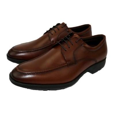 テクシーリュクス texcy luxe ビジネス メンズ TU-7773 ブラウン BROWN 24.527,28cm 牛革 モカ 革靴 ビジネスシューズ 幅広 軽量 紳士靴 冠婚葬祭
