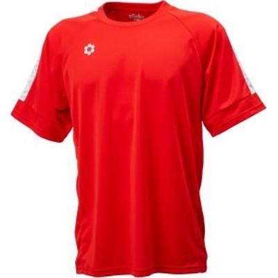 スフィーダ イミオ フットサル BP ゲームシャツ S/S JR 19FW RED ケームシャツ・パンツ(sa21822jr-red)