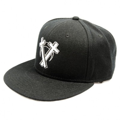 DEADHEARTZ intarsect SNAPBACK CAP ブラック