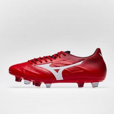 ミズノ Mizuno メンズ サッカー ブーツ シューズ・靴 Rebula 2 Firm Ground Football Boots High Risk Red