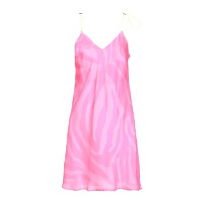 メルシー ..,MERCI ミニワンピース&ドレス フューシャ 38 ポリエステル ミニワンピース&ドレス
