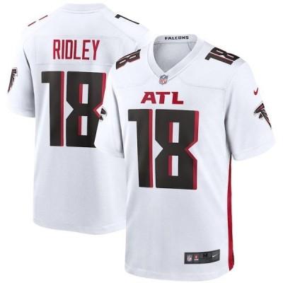 ナイキ メンズ Tシャツ トップス Calvin Ridley Atlanta Falcons Nike Game Jersey