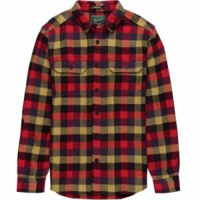 ウールリッチ シャツ Oxbow Bend Modern Flannel Shirts Red Multi