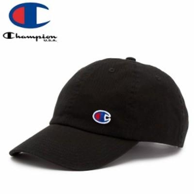 CHAMPION チャンピオン レディース ベースボールキャップ FLOW DAD CAP ブラック NO2