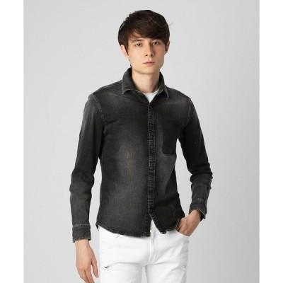 シャツ ブラウス Pocket remove Denim shirt 〜JAPAN MADE〜