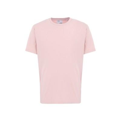 COLORFUL STANDARD T シャツ ピンク S オーガニックコットン 100% T シャツ
