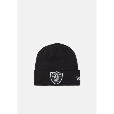 ニューエラ 帽子 メンズ アクセサリー ESSENTIAL - Beanie - black