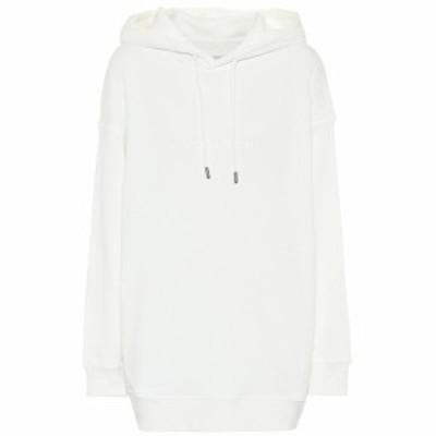 ウールリッチ Woolrich レディース パーカー トップス WS cotton-fleece hoodie White