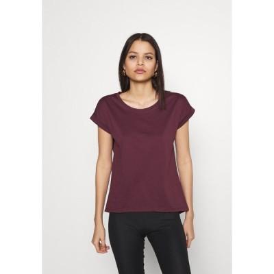 ヴィラ Tシャツ レディース トップス VIDREAMERS PURE - Basic T-shirt - winetasting