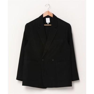 ジャケット テーラードジャケット rehacer : Over Size Double Jacket / オーバーサイズ タブル ジャケット