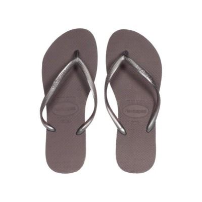 ハワイアナス Havaianas レディース ビーチサンダル シューズ・靴 Slim Flip Flops Lilac Announce