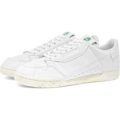 アディダス Adidas メンズ スニーカー シューズ・靴 Continental 80 Vegan White/Off White/Green