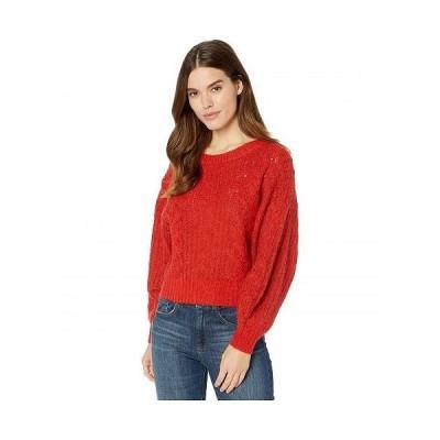 Joie ジョア レディース 女性用 ファッション セーター Pravi - Scarlet