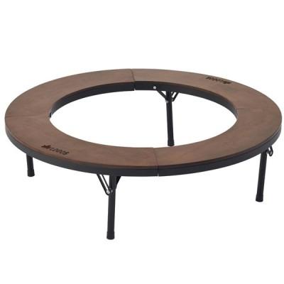 アウトドアテーブル ロゴス アイアンウッド囲炉裏サークルテーブルL