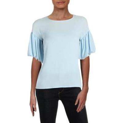 レディース 衣類 トップス Vince Camuto Womens Amalfi Breeze Textured Bishop Sleeves Blouse ブラウス&シャツ