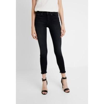 オンリー レディース デニムパンツ ボトムス ONLBLUSH - Jeans Skinny Fit - black denim black denim