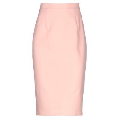 MAESTRI ひざ丈スカート ピンク 10 ポリエステル 100% ひざ丈スカート