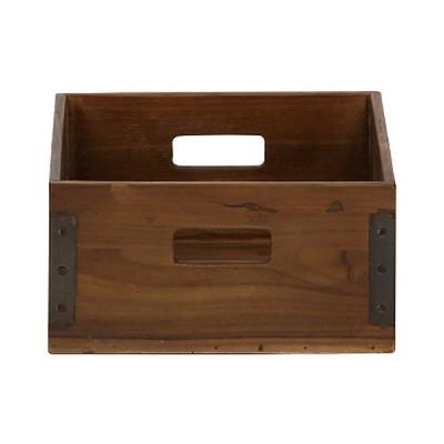 収納ボックス 収納ケース 木製 ケース ACME Furniture アクメファニチャー TROY BOX S トロイ ボックス