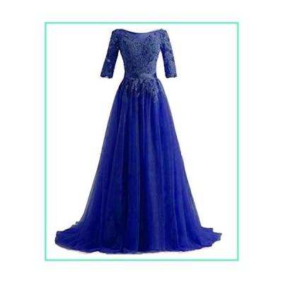 Vintage 1920s Long Wedding Prom Dresses Applique Wedding Guest Dress Royal,16w並行輸入品