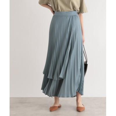 LE FOYER / プリーツラップスカート WOMEN スカート > スカート