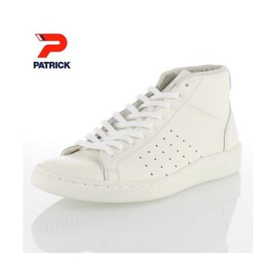 PATRICK パトリック St.PUNCH-H WHT セイント パンチ ハイ 18550 06-18550 メンズ レディース スニーカーホワイト ステアレザー 日本製