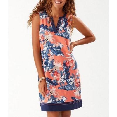 トッミーバハマ レディース ワンピース トップス Tropulence Sleeveless Shift Dress Peachy