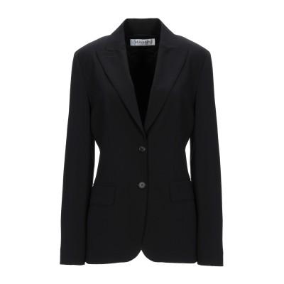 マックスマーラ MAX MARA テーラードジャケット ブラック 40 バージンウール 96% / ポリウレタン 4% テーラードジャケット