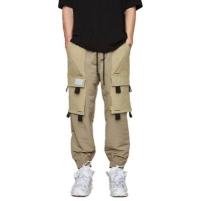 Dezzn ディズーン/デジーン BOTOMS ボトムス ポケットトラックトラウザー ベージュ Pocket Track Pants IN9340S BEIGE カジュアル ストリート系 かっこいい