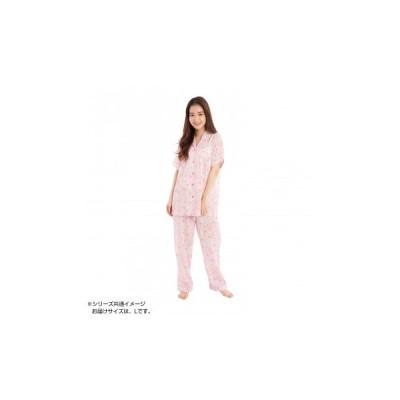 サザック フラワーマイメロ半袖シャツパジャマ PK・レディスL SAN-1155  レディース パジャマ[▲][AB]