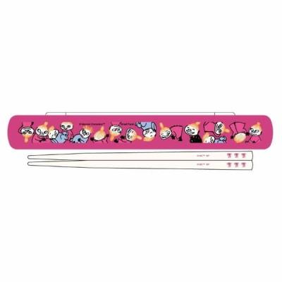 ムーミン 箸+箸ケース ピンク [611910]