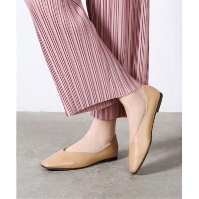 Shoes in Closet -シュークロ- / 2Way スクエアトゥ Vカット フラットパンプス  7984 WOMEN シューズ > パンプス