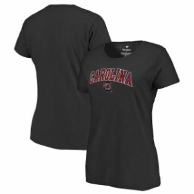 Fanatics Branded ファナティクス ブランド スポーツ用品  South Carolina Gamecocks Womens Black Campus T-Shirt