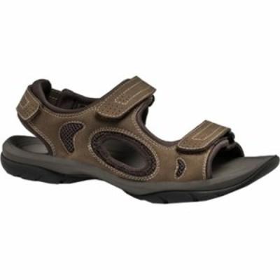 ドッカーズ サンダル Devon Active Sandal Brown/Khaki Distressed Mesh
