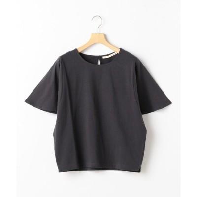 tシャツ Tシャツ ドライタッチコットンフレアスリーブプルオーバー