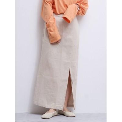 【アングリッド/Ungrid】 スリットフィットマキシスカート