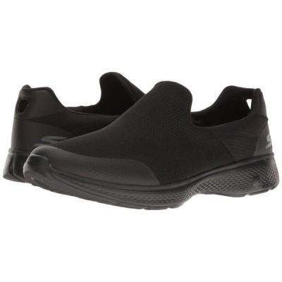 【残り1点!】【サイズ:25cm】スケッチャーズ Skechers メンズ シューズ・靴 スニーカー Go Walk 4 - Incredible Black