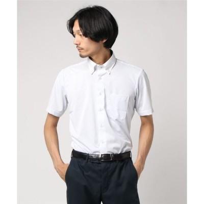 シャツ ブラウス EXPF01-81 アイシャツ(アーバン) 半袖 サックスST クレリックDueBD 別布