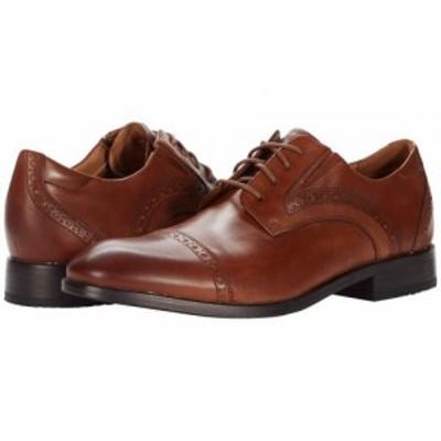 Rockport ロックポート メンズ 男性用 シューズ 靴 オックスフォード 紳士靴 通勤靴 Total Motion Office Cap Toe British【送料無料】