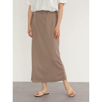Iラインカットスカート