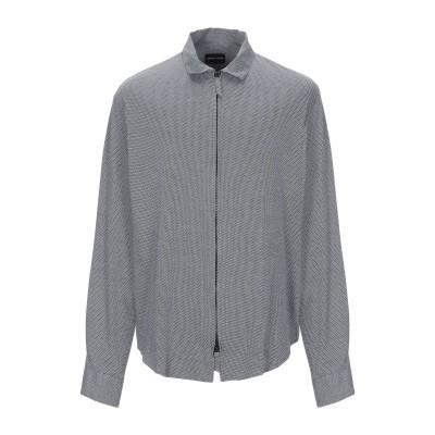 ジョルジオ アルマーニ GIORGIO ARMANI シャツ グレー 39 コットン 100% シャツ