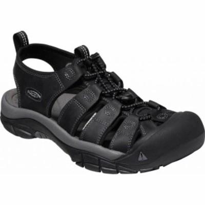 キーン KEEN メンズ サンダル シューズ・靴 Keen Newport Black/Steel Grey