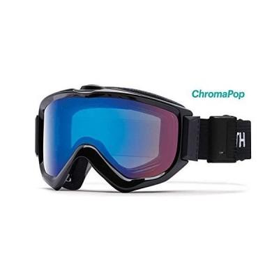 Smith Optics Knowledge Turbo Fan - Asian Fit Adult Snow Goggles - Black/Chromapop Storm Rose Flash/One Size 並行輸入品