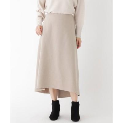 SOUP(スープ)【大きいサイズあり・15号】ライトニットフィッシュテールスカート